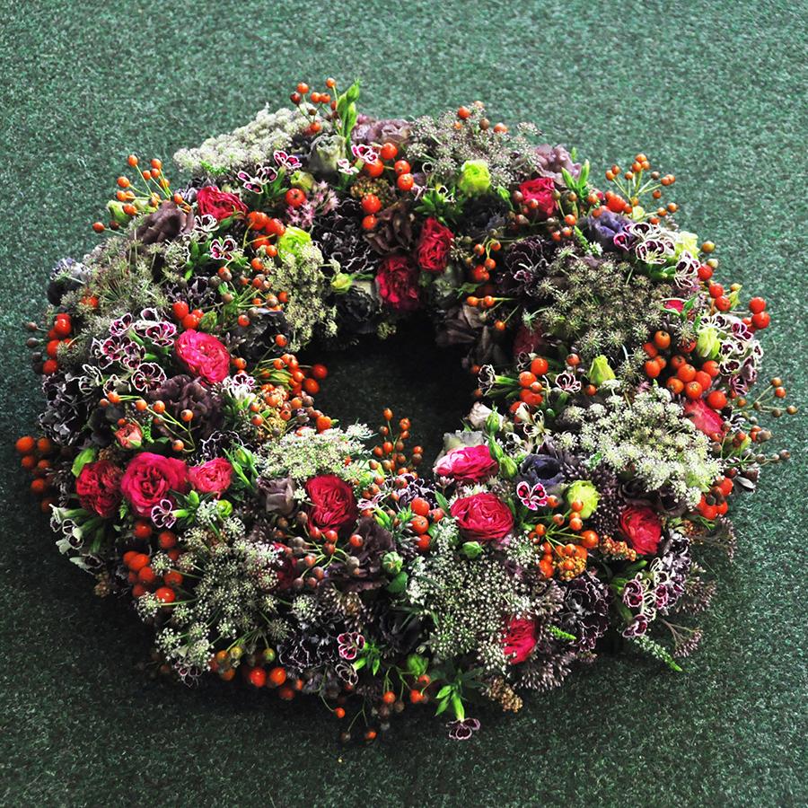 Kegyeleti virágkötészet – magas szinten