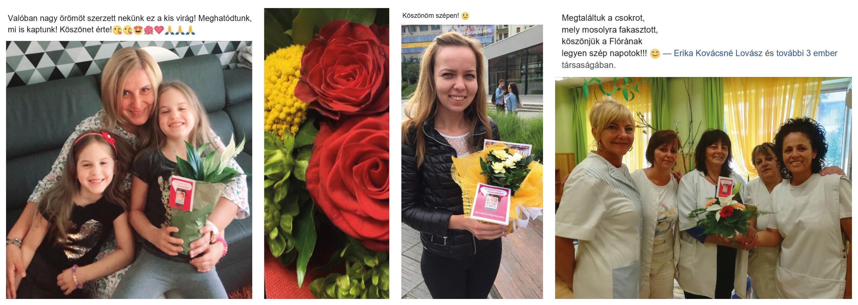 Virággal egy mosolyért 2018