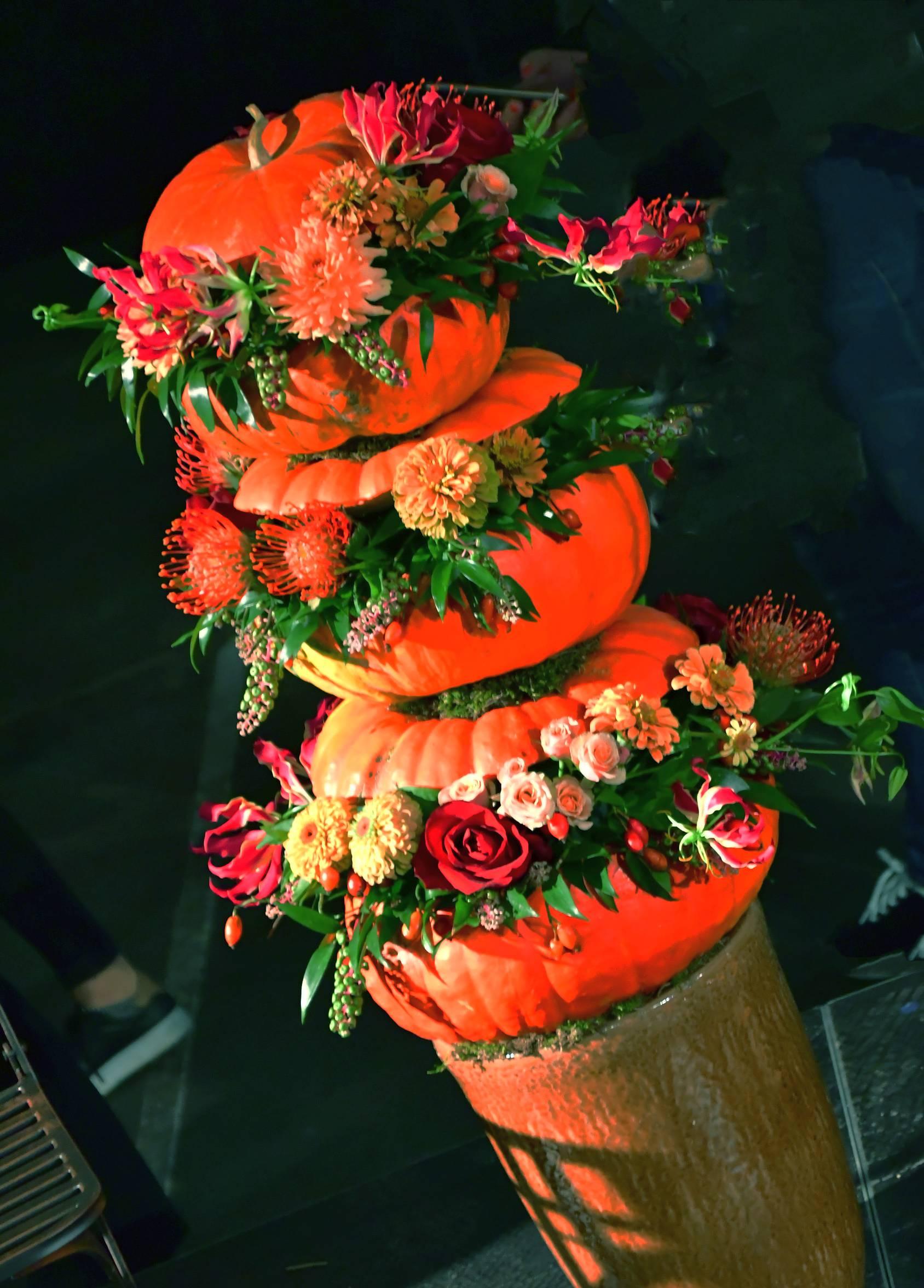 virágkötészeti bemutató