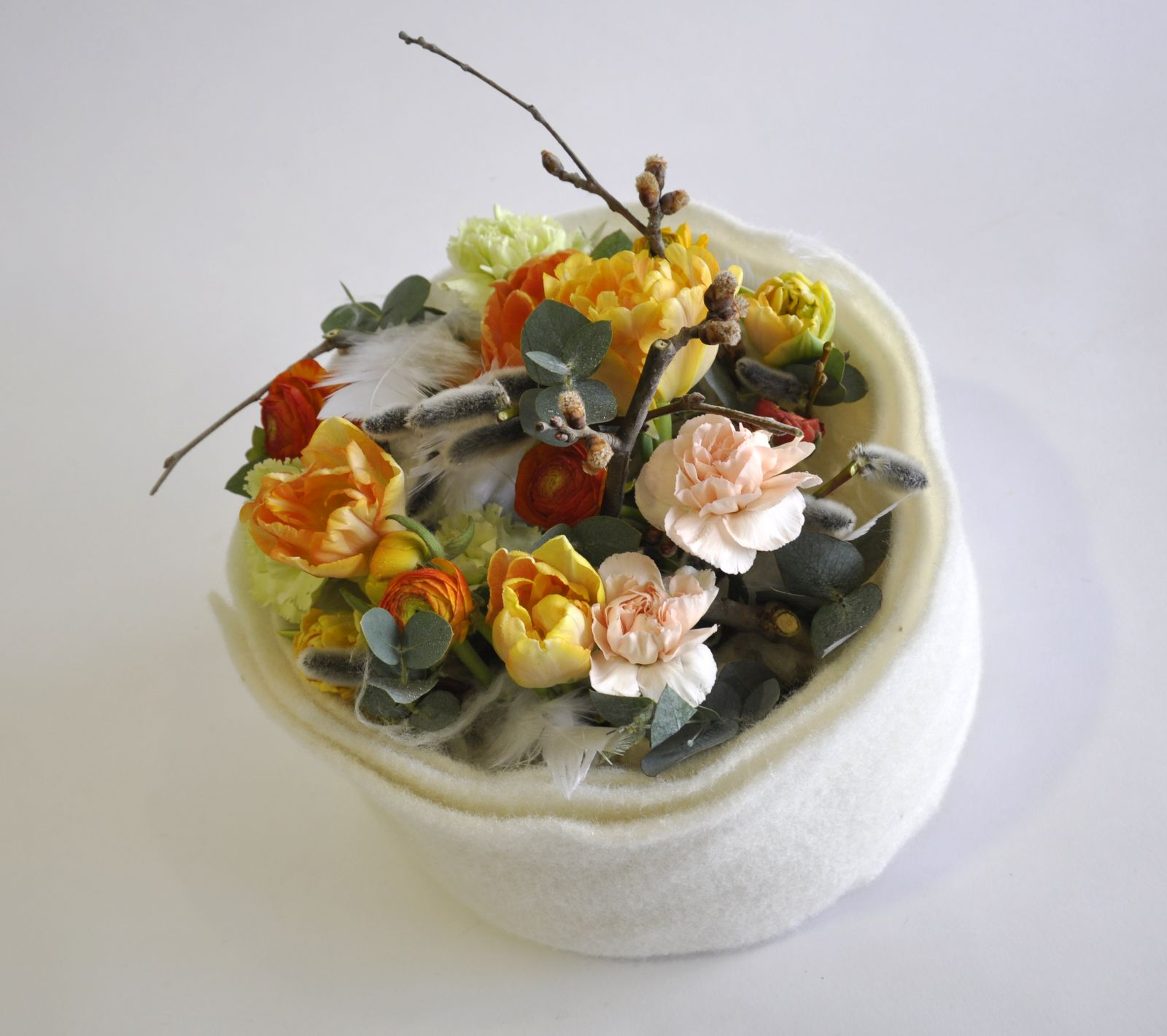Johann Obendrauf Virágkötészeti bemutató